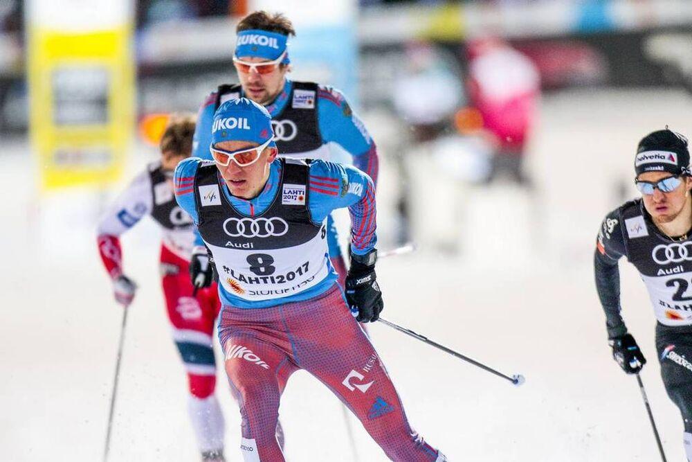 23.02.2017, Lahti, Finland (FIN):Alexander Bolshunov (RUS) - FIS nordic world ski championships, cross-country, individual sprint, Lahti (FIN). www.nordicfocus.com. © Modica/NordicFocus. Every downloaded picture is fee-liable.