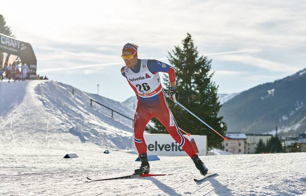 12.12.2015, Davos, Switzerland (SUI):Chris Andre Jespersen (NOR) - FIS world cup cross-country, 30km men, Davos (SUI). www.nordicfocus.com. © Felgenhauer/NordicFocus. Every downloaded picture is fee-liable.