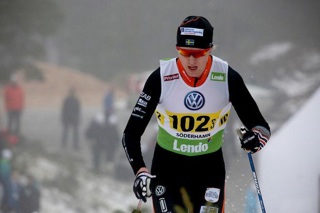 OSKAR SVENSSON från Falun-Borlänge SK är topprankad bland sprintåkarna i Sverige enligt den senaste FIS-listan. Foto/rights: MARCELA HAVLOVA/KEK-stock