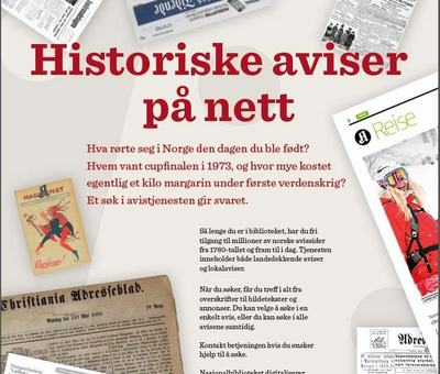 Aviser Nasjonalbiblioteket