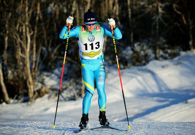 FILIP DANIELSSON, SK Bore (tidigare Garphyttan) är en överraskning i den svenska truppen till världscupen i Lillehammer kommande helg. Foto/rights: KJELL-ERIK KRISTIANSEN/KEK-stock