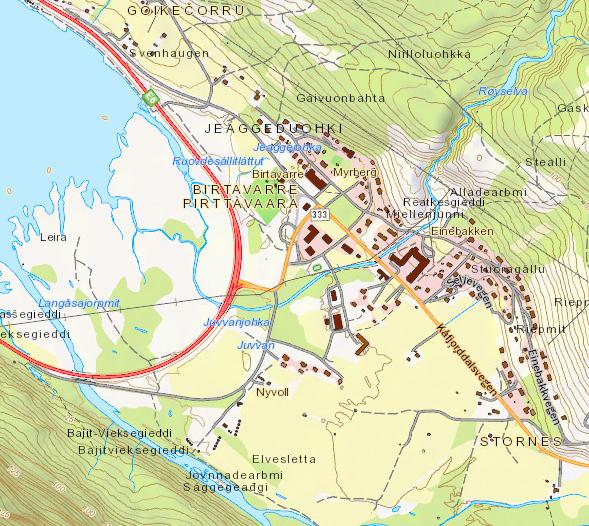 kart kåfjord Digitale kart   Kåfjord kommune kart kåfjord