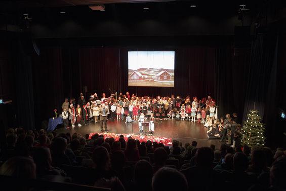 Kulturskoleforestilling Foto: Tommy Dahl Markussen