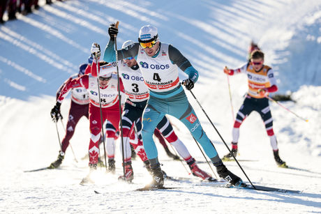 03.12.2017, Lillehammer, Norway (NOR):Maurice Manificat (FRA) - FIS world cup cross-country, skiathlon men, Lillehammer (NOR). www.nordicfocus.com. © Modica/NordicFocus. Every downloaded picture is fee-liable.