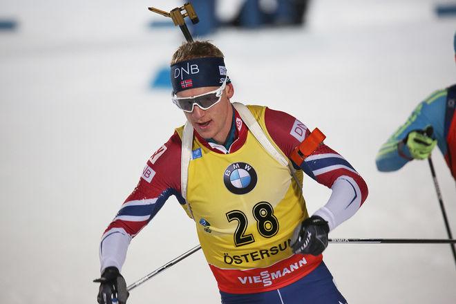 JOHANNES THINGNES BØ gjorde ett kanonlopp då han vann sprinten i Hochfilzen i Österrike. Här från världscupen i Östersund förra veckan. Foto/rights: MARCELA HAVLOVA/KEK-stock