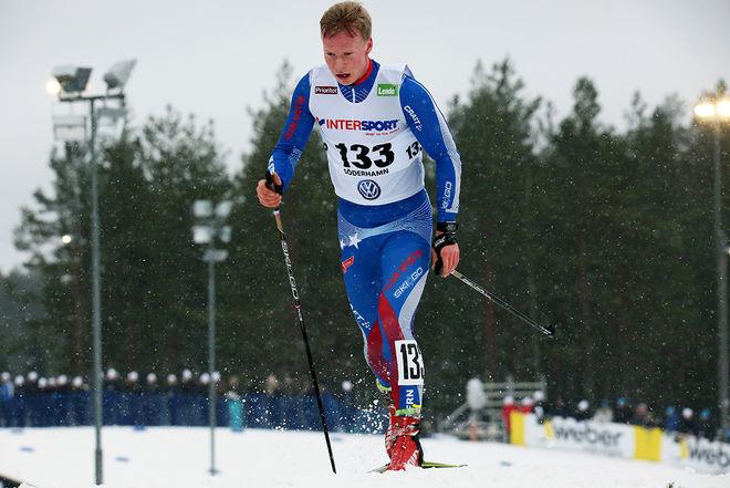 ALFRED BUSKQVIST, IK Stern vann Sixten Jernbergs Memorial över 50 km i helgen. Foto/rights: MARCELA HAVLOVA/KEK-stock