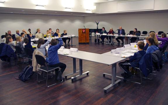 Barn- og unges kommunestyremøte 2017
