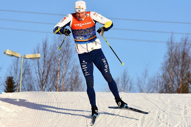 KARL-JOHAN WESTBERG, Borås fixade den första svenska pallplatsen i Skandinaviska cupen i finska Vuokatti. Foto: ROLF ZETTERBERG