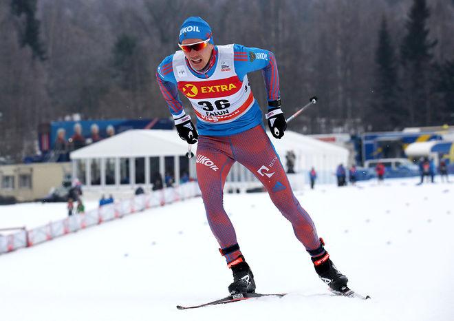 NIKITA KRIUKOV är en av dom tre längdåkarna som stängdes av från OS på livstid under fredagen. Foto/rights: MARCELA HAVLOVA/KEK-stock