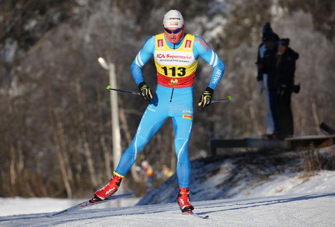 ADAM PERSSON, IF Hallby SOK är rankad som världens 7:e bästa sprinter i juniorklassen. Foto/rights: KJELL-ERIK KRISTIANSEN/KEK-stock