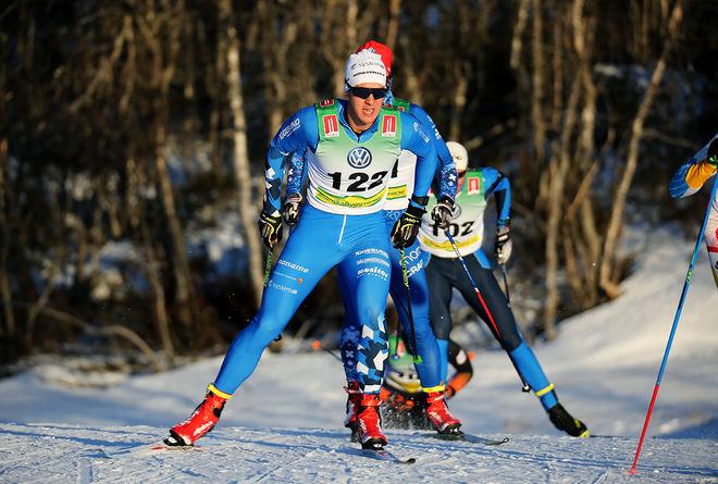 ANTON LINDBLAD var ensam svensk bland dom 20 bästa med en 11:e plats i Skandinaviska cupen i Trondheim. Foto/rights: KJELL-ERIK KRISTIANSEN/KEK-stock