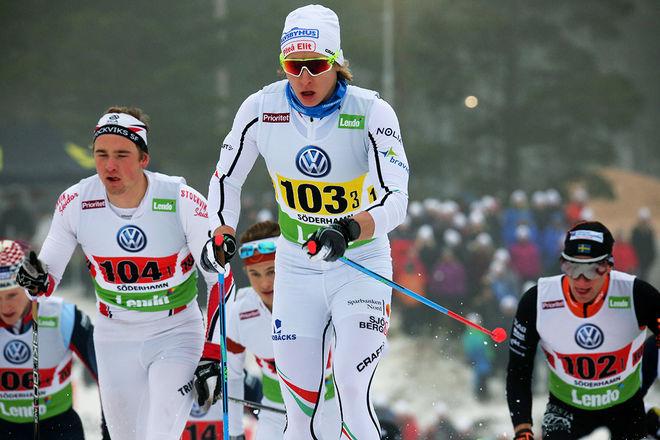 VIKTOR BRÄNNMARK, Piteå Elit vann Nyårsknallen 2018 i Boden efter en tuff spurtuppgörelse. Han åkte tidigare för Bodens SK. Foto/rights: MARCELA HAVLOVA/KEK-stock