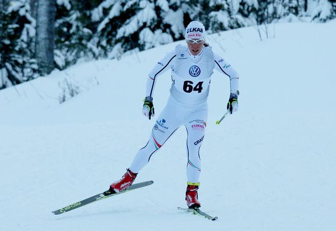 CHARLOTTE KALLA fick ett bra besked då hon vann Skandinaviska cupen klart över 10 km fristil i Piteå. Foto: MIKAEL EDSTRÖM