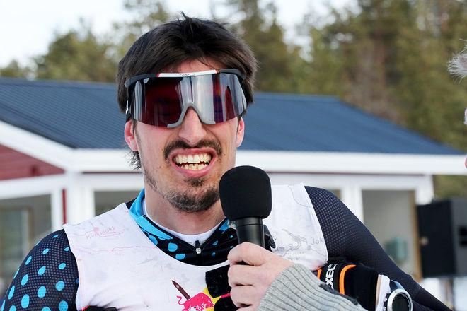ERIK MELIN SÖDERSTRÖM från ÖSK vann Tåsjödalen Classic Ski under söndagen. Foto/rights: MARCELA HAVLOVA/KEK-stock