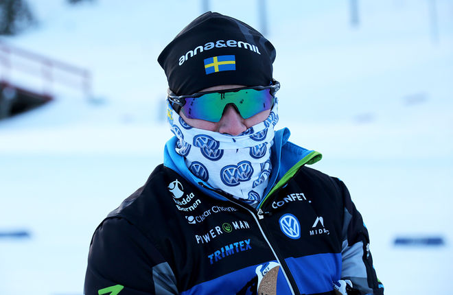 ÄR DET HÄR en åkare för det svenska OS-laget? Den här mysko åkaren är Emil Jönsson i Piteå i helgen. Där övertygade han inte, det måsta han i Dresden i helgen om han skall till Pyeongchang. Foto/rights: KJELL-ERIK KRISTIANSEN/KEK-stock
