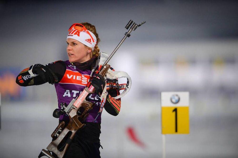 09.03.2017, Kontiolahti, Finland (FIN):Nadine Horchler (GER) -  IBU world cup biathlon, training, Kontiolahti (FIN). www.nordicfocus.com. © Tumashov/NordicFocus. Every downloaded picture is fee-liable.