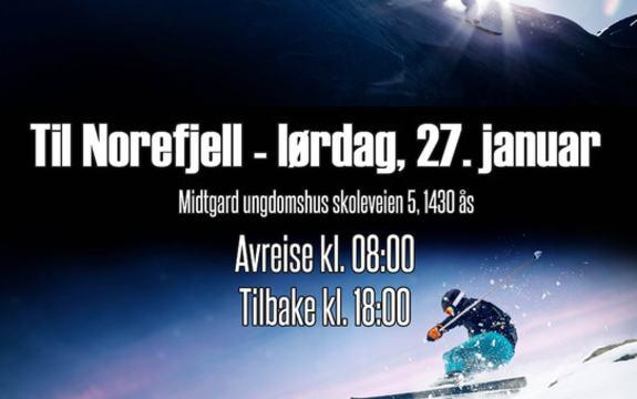Slalom og snowboardtur til Norefjell
