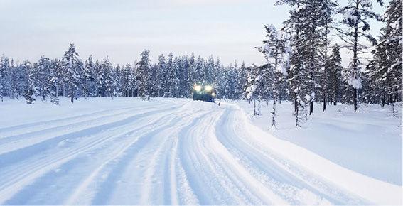 Snö i sverige