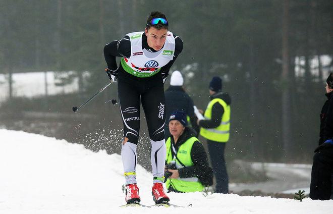 MAX NOVAK, Offerdal tog en mycket knapp men stark seger i Vålådalen Classic Ski under söndagen. Foto/rights: MARCELA HAVLOVA/KEK-stock