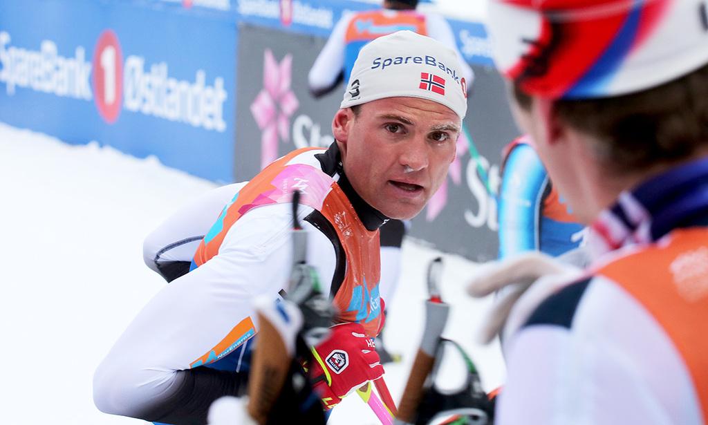 Svenskarna sliter langt efter i tour de ski