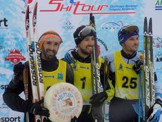 Podium H 42 Belles Combes Marathon Ski Tour 2018