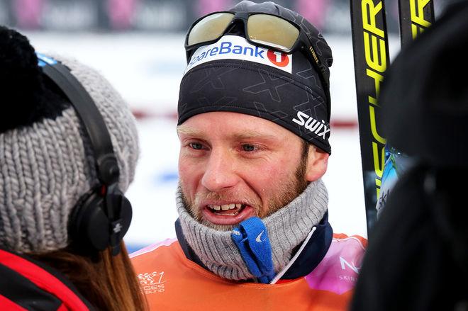 MARTIN JOHNSRUD SUNDBY hade inte tänkt åka världscupen i Seefeld, men han har nu ändrat sina planer och ställer upp i Österrike i helgen. Här från norska mästerskapen för halvannan vecka sedan. Foto/rights: MARCELA HAVLOVA/KEK-stock