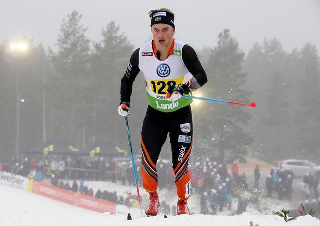ANTON ENBERG vann Harsa Ski Marathon i Hälsingland under lördagen. Foto/rights: MARCELA HAVLOVA/KEK-stock