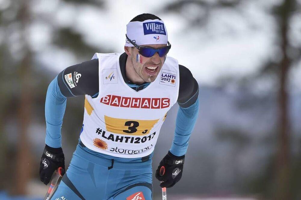 03.03.2017, Lahti, Finland (FIN):Robin Duvillard (FRA) - FIS nordic world ski championships, cross-country, 4x10km men, Lahti (FIN). www.nordicfocus.com. © Thibaut/NordicFocus. Every downloaded picture is fee-liable.