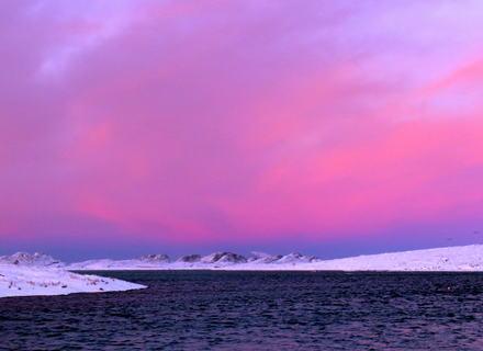 Utsikt mot Øksningsfjellan