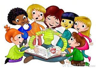 Barnehagebarn clip art