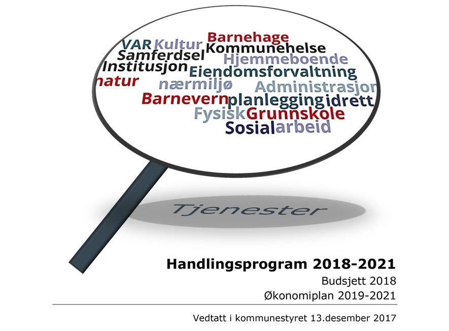 Handlingsplan HP 2018-2021- Vedtatt 1 illustrasjonsbilde
