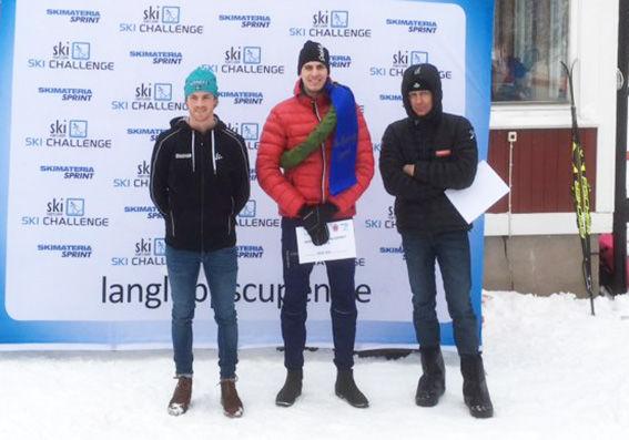 PONTUS NORDSTRÖM, Östervåla vann Wadköpingsloppet före Ludwig Tärning (tv) och Peo Svahn. Foto: ARRANGÖREN