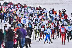 12.02.2017, Morez, France (FRA):(l-r)  - FIS Marathon Cup LaTransjurassienne, Morez (FRA). www.nordicfocus.com. © Thibaut/NordicFocus. Every downloaded picture is fee-liable.