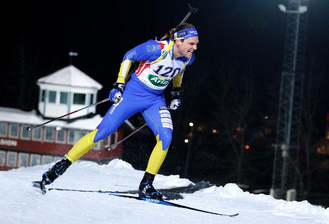 GABRIEL STEGMAYR vann herrarnas SM-guld i Östersund under fredagen. Foto: HÅKON BLIDBERG