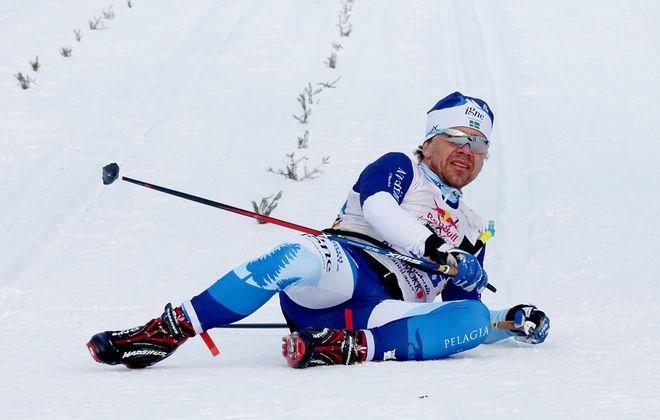BJÖRN RYDVALL från Lycksele vann Konstvägenloppet i Västerbotten under söndagen. Foto/rights: MARCELA HAVLOVA/KEK-stock