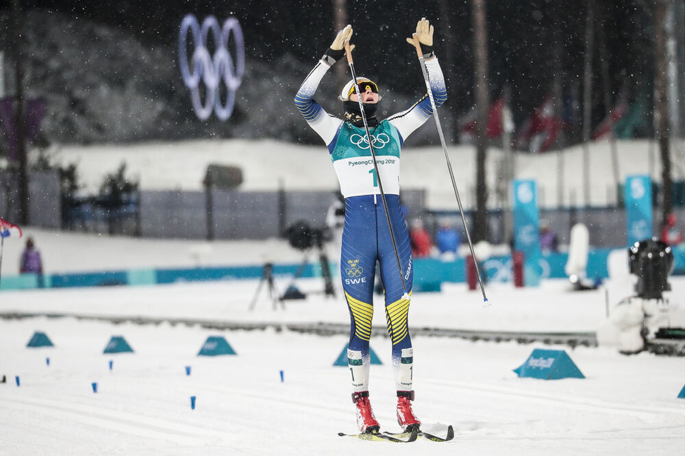 13.02.2018, Pyeongchang, Korea (KOR):Stina Nilsson (SWE) - XXIII. Olympic Winter Games Pyeongchang 2018, cross-country, individual sprint,  Pyeongchang (KOR). www.nordicfocus.com. © Modica/NordicFocus. Every downloaded picture is fee-liable.