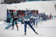 12.02.2018, Pyeongchang, Korea (KOR):Anais Bescond (FRA) - XXIII. Olympic Winter Games Pyeongchang 2018, biathlon, pursuit women, Pyeongchang (KOR). www.nordicfocus.com. © Manzoni/NordicFocus. Every downloaded picture is fee-liable.
