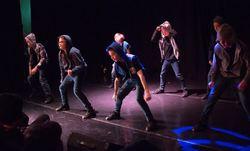 Dansegruppen STREET i UKM 2016