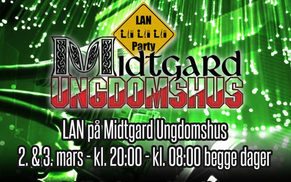 LAN Midtgard 2018 illustrasjonsbilde