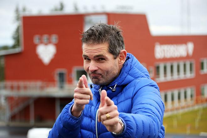 VM-GENERALEN Patrik Jemteborn har nu 300 dagar kvar innan hans team öppnar dörrarna till skidskytte-VM i Östersund. Över 12.000 biljetter är redan sålda, boendefrågan är en viktig punkt på agendan idag. Foto/rights: KJELL-ERIK KRISTIANSEN/KEK-stock