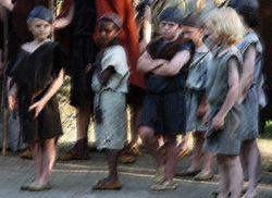 Barn i stammen