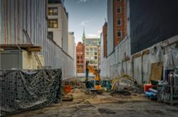 Byggeplass avfall