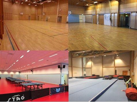 Gymsaler utleie - Frøystad - Skøienhallen - Harestua arena
