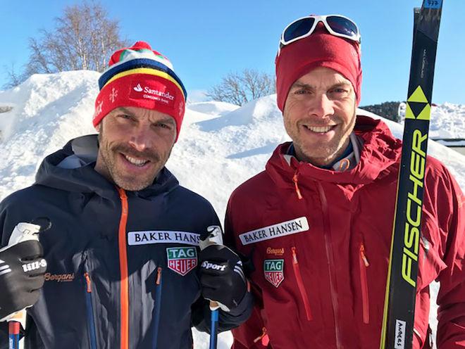 ANDERS och Jörgen Aukland har båda vunnit Vasaloppet, men rekordförsöket över Grönland fick dom avbryta bland annat på grund av dåligt väder.
