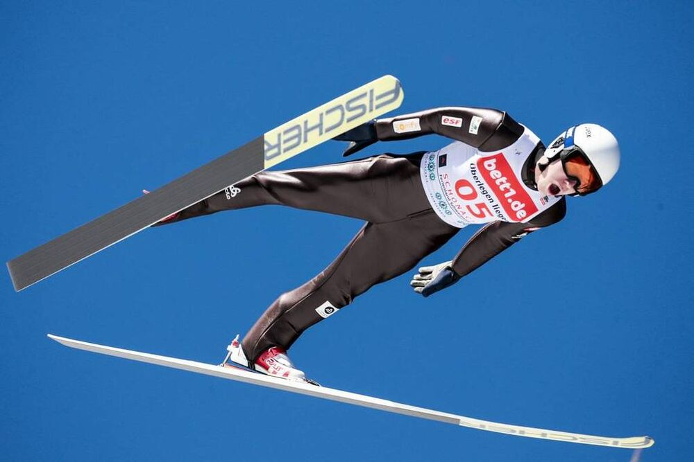 24.03.2018, Schonach, Germany (GER):Laurent Muhlethaler (FRA) - FIS world cup nordic combined, individual gundersen HS106/10km, Schonach (GER). www.nordicfocus.com. © Modica/NordicFocus. Every downloaded picture is fee-liable.