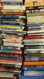 Bildet viser bøker