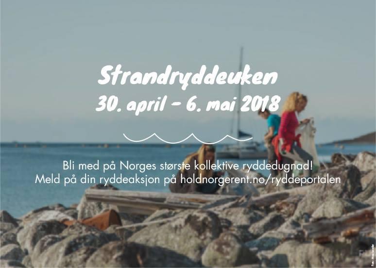 Strandrydding 2018