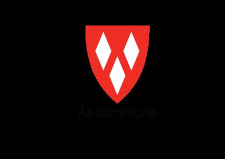 Kommunevåpen, stående, sort tekst uten slagord. PMG-format for bruk på web