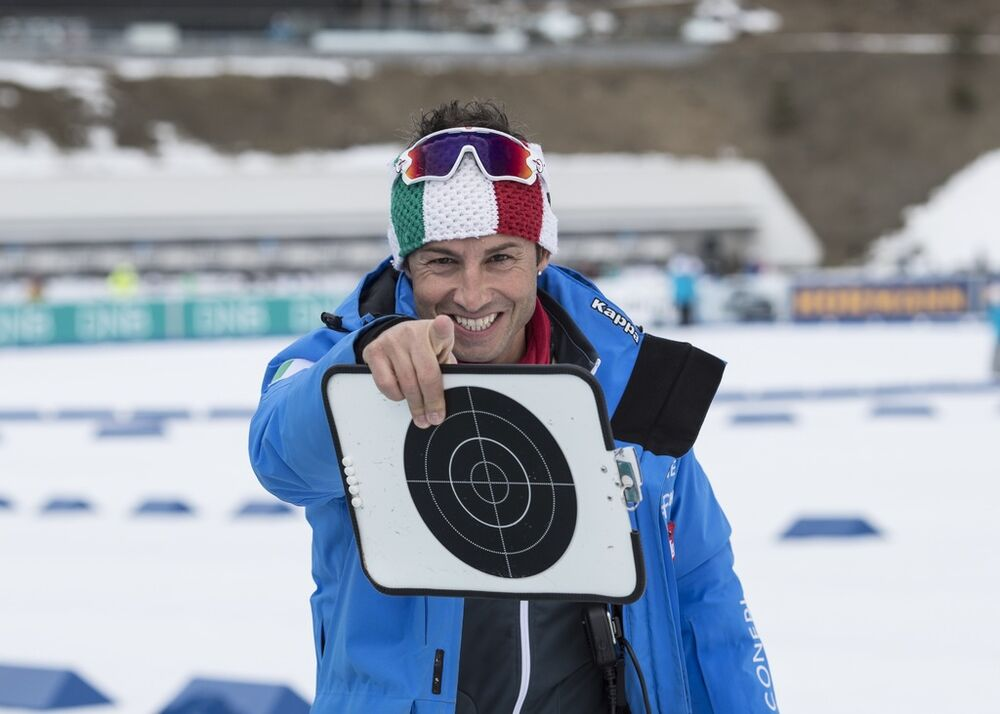 19.03.2017, Oslo, Norway (NOR):Patrick Oberegger (ITA) coach Team Italy -  IBU world cup biathlon, mass women, Oslo (NOR). www.nordicfocus.com. © Manzoni/NordicFocus. Every downloaded picture is fee-liable.