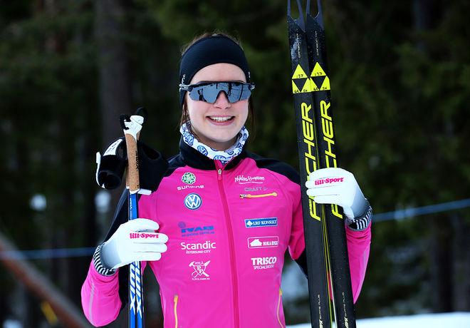 SOFIA HENRIKSSON åkte ur landslaget. Men hon är jättetaggad för att komma tillbaka och får nu ny hjälp på tränarsidan. Foto/rights: KJELL-ERIK KRISTIANSEN/KEK-stock